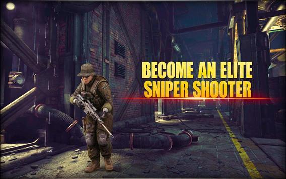 City Sniper Gun Shooter - Commando War screenshot 13