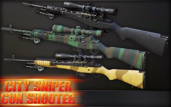 City Sniper Gun Shooter - Commando War screenshot 14