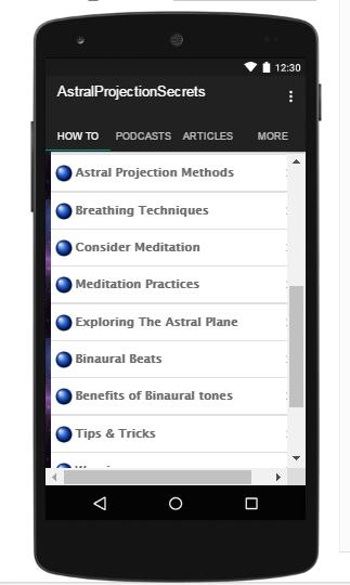 Astral Projection Secrets for Android - APK Download