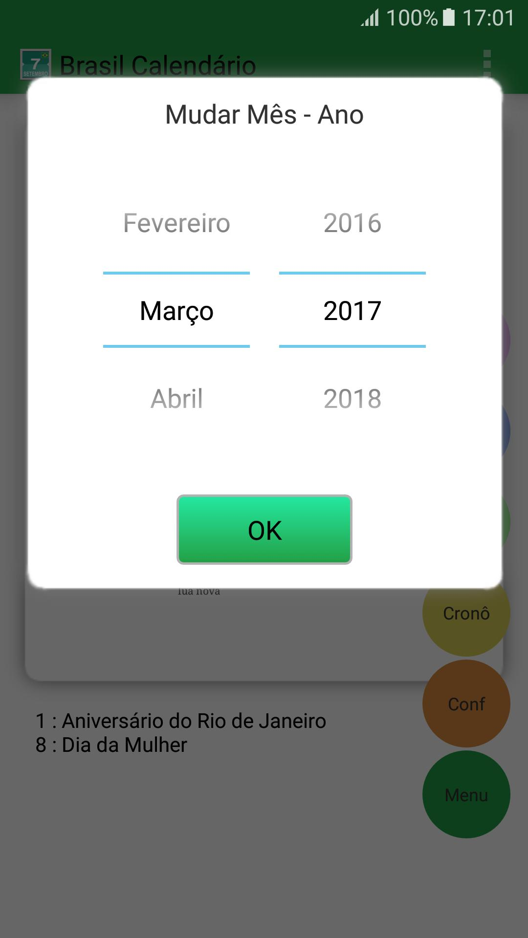 Calendario 2017 Brasil.Brasil Calendario For Android Apk Download