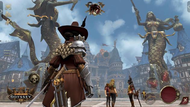 Warhammer: Odyssey MMORPG تصوير الشاشة 17