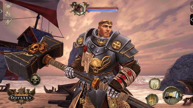Warhammer: Odyssey MMORPG تصوير الشاشة 3