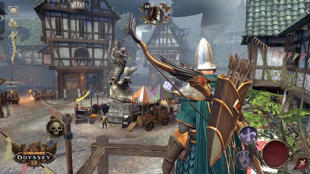Warhammer: Odyssey MMORPG تصوير الشاشة 6