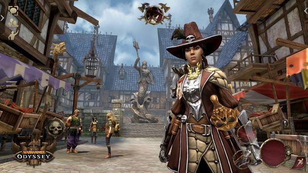 Warhammer: Odyssey MMORPG تصوير الشاشة 8