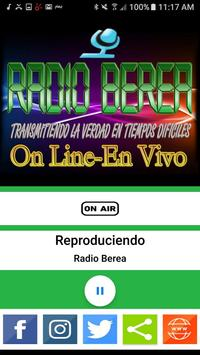 Radio Berea poster