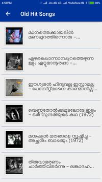 Malayalam Old Video Songs poster
