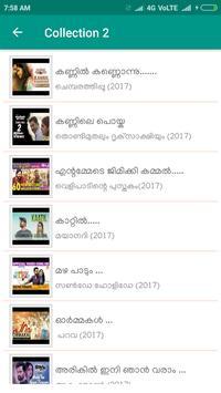 New Malayalam Songs screenshot 1
