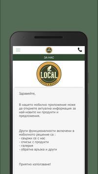 Local Cafe screenshot 1
