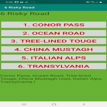 6 Risky Road poster