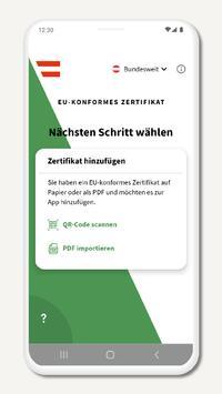 Grüner Pass Screenshot 2