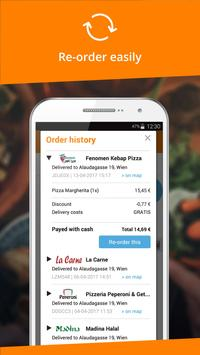 Lieferservice.at - Order food screenshot 4