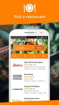 Lieferservice.at - Order food screenshot 1