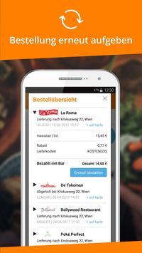 3 Schermata Lieferservice.at: Essen ordern