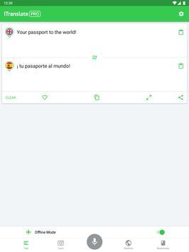 iTranslate تصوير الشاشة 10