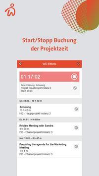 Webdesk Project-Time screenshot 1