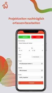 Webdesk Project-Time screenshot 2