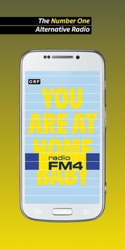 Radio FM4 poster