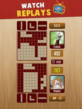 Woody™ Battle: Online Multiplayer Block Puzzle تصوير الشاشة 9