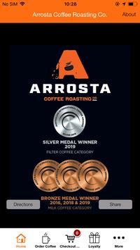 Arrosta Coffee Roasting Co App. poster