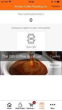 Arrosta Coffee Roasting Co App. screenshot 2