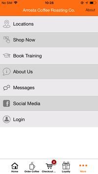 Arrosta Coffee Roasting Co App. screenshot 3