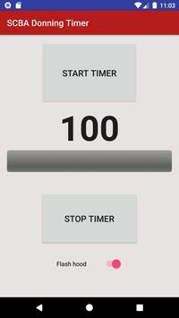 SCBA Timer screenshot 2
