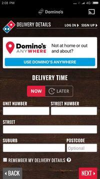 Domino's screenshot 3