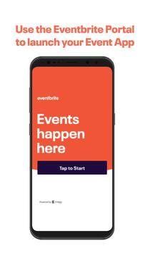 Event Portal for Eventbrite poster