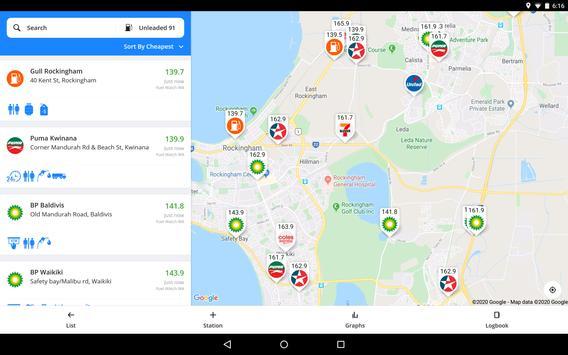 Fuel Map Australia screenshot 8