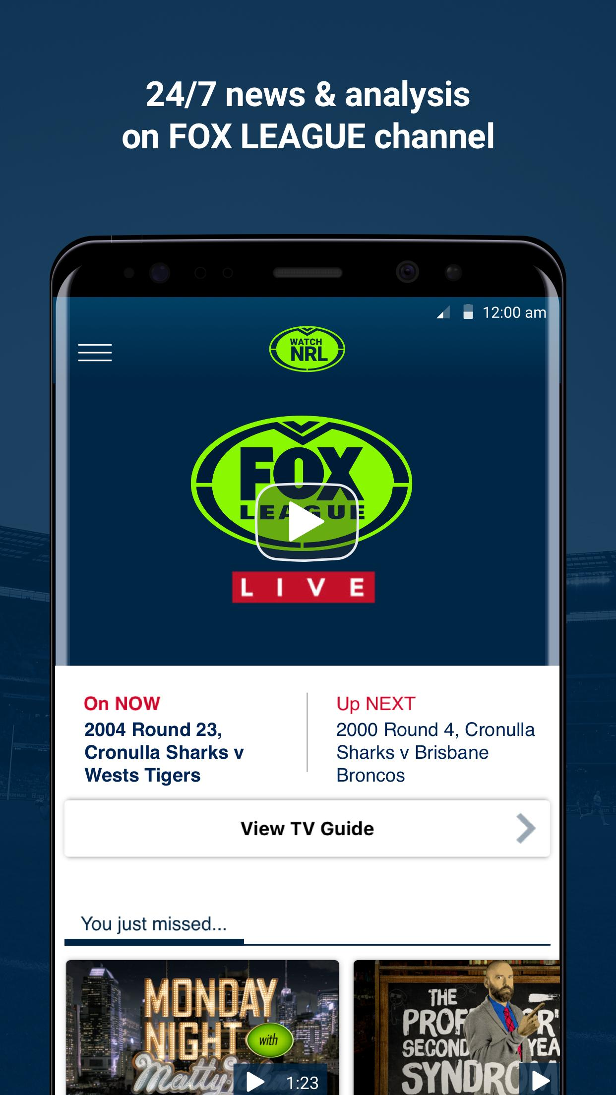 Watch NRL for Android - APK Download