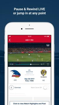 Watch AFL screenshot 1