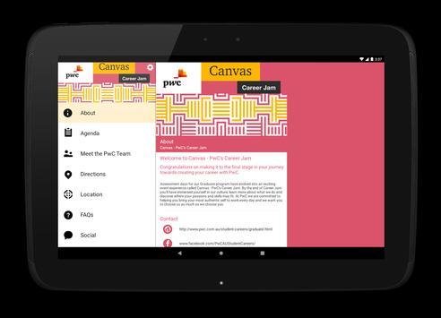 Canvas - PwC's Career Jam capture d'écran 3