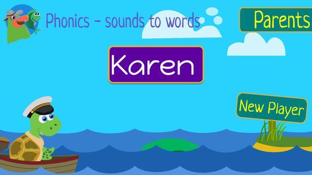 Phonics - Sounds to Words - beginning readers EDU screenshot 16