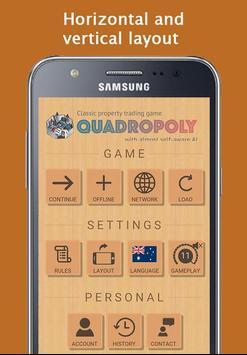 Quadropoly Pro ảnh chụp màn hình 1