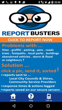 Report Busters poster