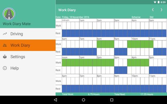 Work Diary Mate screenshot 4
