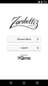 Zambelli's Pizza poster