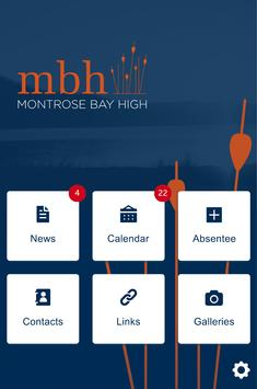 Montrose Bay High School poster