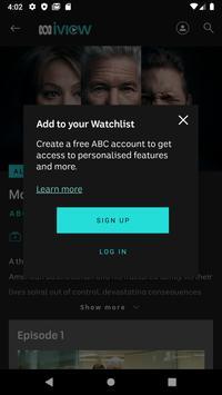 ABC iview screenshot 1