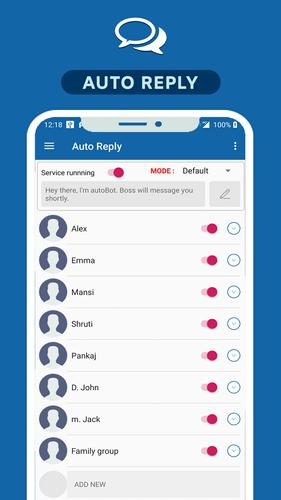 Auto reply for Whats : Automatic chat reply for Android - APK Download