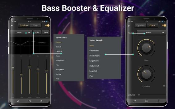 Bass Booster &EQ Music Player screenshot 11