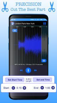 Mp3 Cutter - Ringtone Maker 2019 : Audio Cutter screenshot 1
