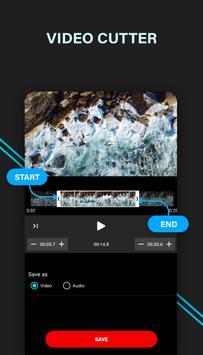cortador de vídeo de audio Poster