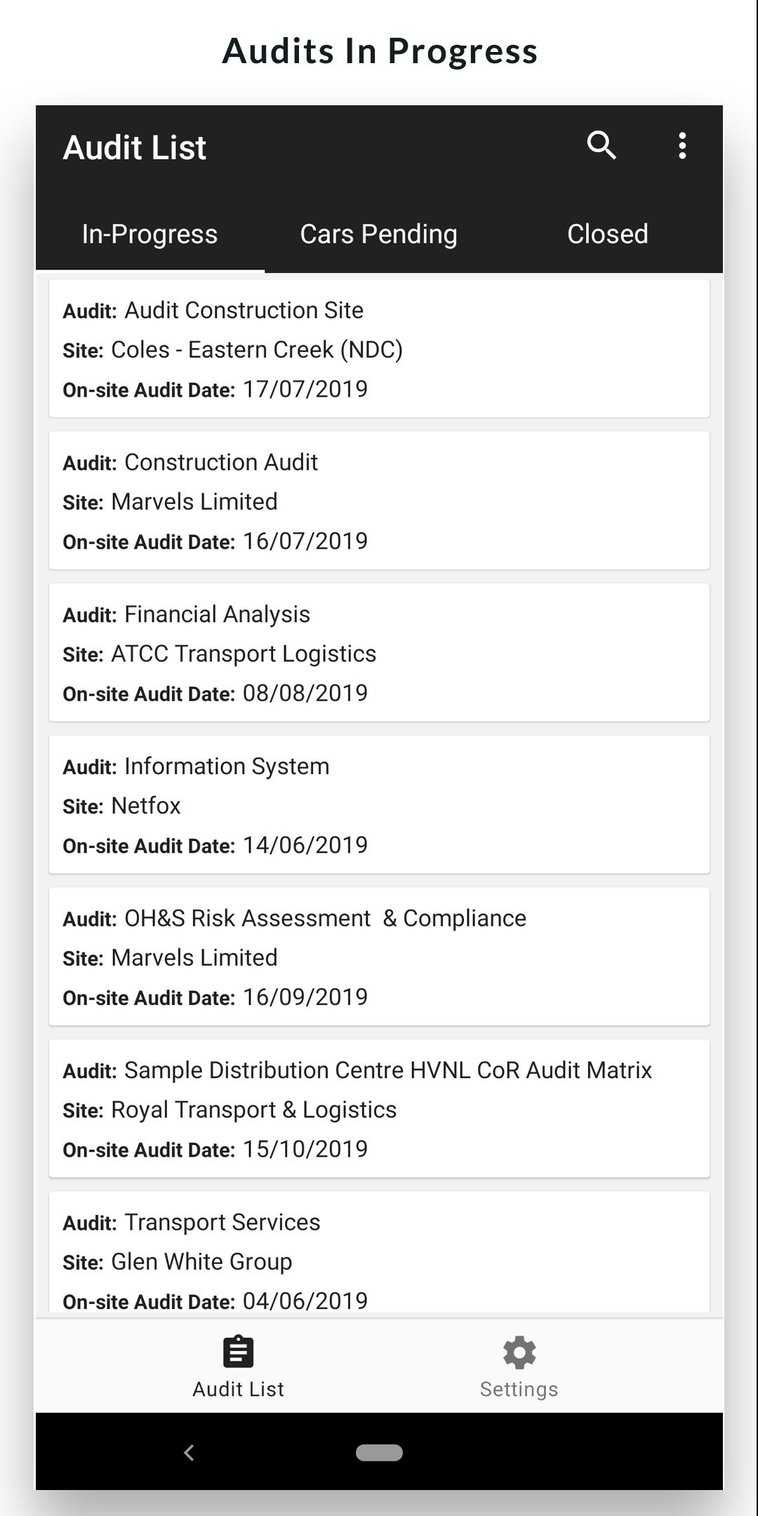ATCC Audit Easy for Android - APK Download