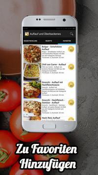 Auflauf Und Überbackenes Rezepte screenshot 1