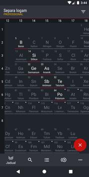 Jadual Berkala 2021 PRO - Kimia syot layar 6