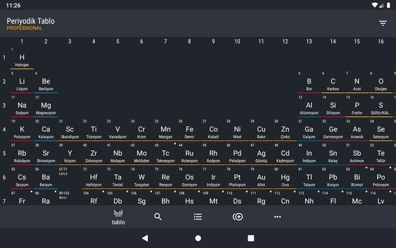 Periyodik Tablo 2021 PRO - Kimya Ekran Görüntüsü 16