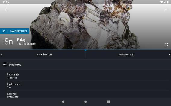 Periyodik Tablo 2021 PRO - Kimya Ekran Görüntüsü 17
