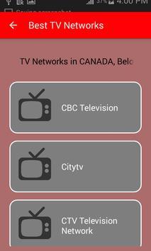 Canada TV Mobile Live स्क्रीनशॉट 1