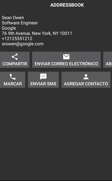 Escáner QR y Barcode captura de pantalla 1